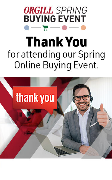 Orgill Spring Buying Event